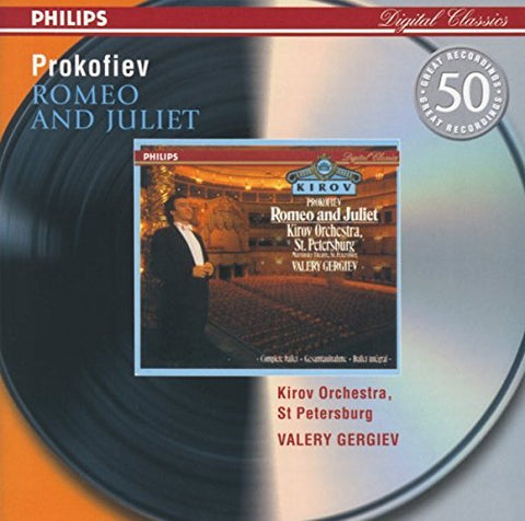 Kirov Orchestra - Prokofiev: Romeo and Juliet Audio CD
