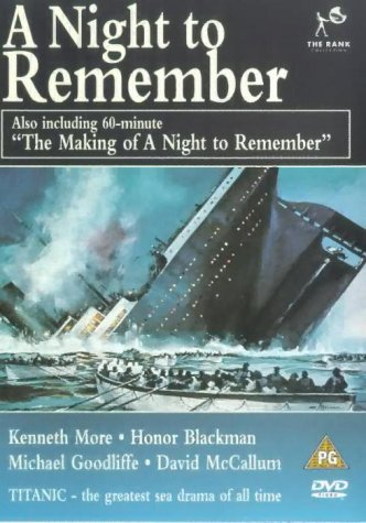 A Night to Remember / The Making of a Night to Remember [DVD] [1958]
