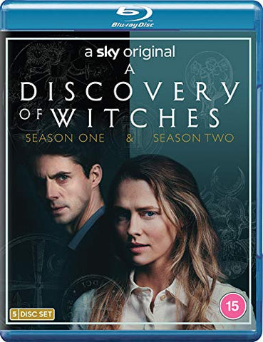 A DISCOVERY OF WITCHES: S1 and 2 BD DVD