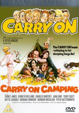 Carry On Camping [DVD]