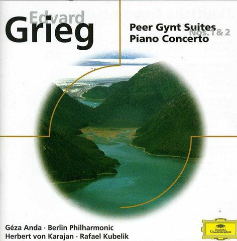 dvard Grieg - Grieg: Peer Gynt Suites Nos 1 and 2; Piano Concerto Audio CD
