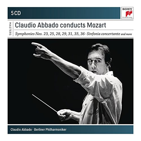 Claudio Abbado - Claudio Abbado conducts Mozart Audio CD