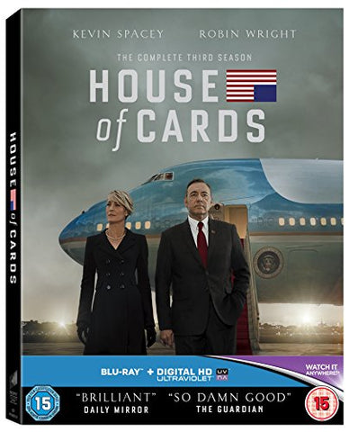House of Cards – Season 3 [Blu-ray] [Region Free] Blu-ray
