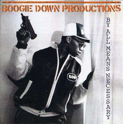 Boogie Down Productions - By All Means Necessary Audio CD