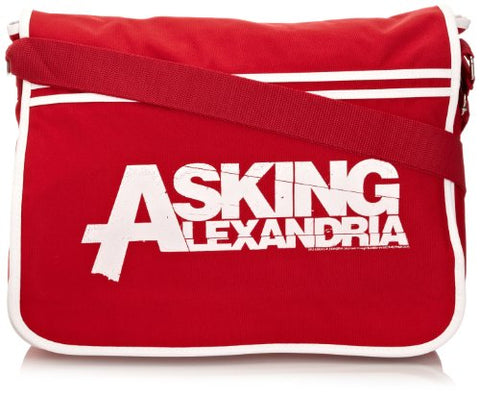 Plastic Head Asking Alexandria Logo Mens Travel Accessory Red One Size