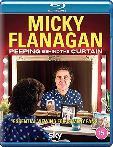 Micky Flanagan - Peeping Behind the Curtain (Blu-ray) Released On 07/06/2021
