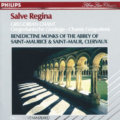 Clevaux - Salve Regina - Gregorian Chant Audio CD