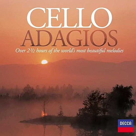 Cello Adagios Audio CD