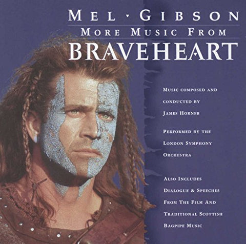 London Symphony Orchestra - More Music from Braveheart Audio CD