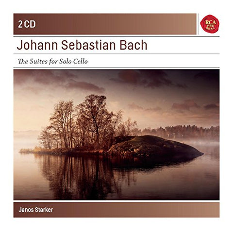 Janos Starker - Bach: 6 Cello Suites Bwv 1007-1012 - Sony Classical Masters Audio CD