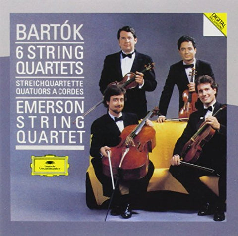 Emerson String Quartet - Bartók: The 6 String Quartets Audio CD