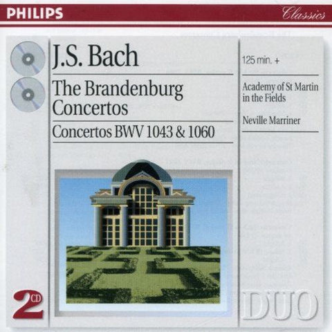 Academy of St. Martin in the Fields - Bach: Brandenburg Concertos Audio CD
