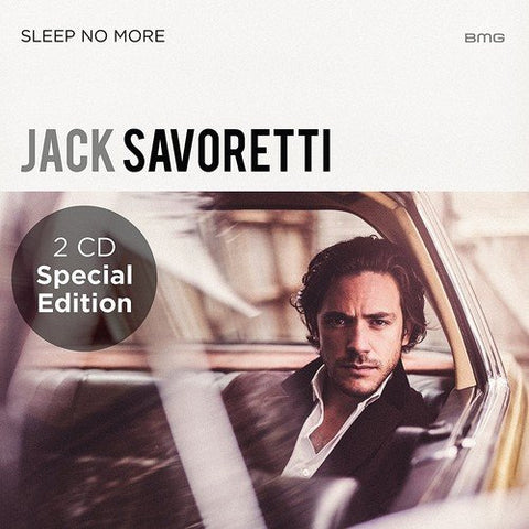 Jack Savoretti - SLEEP NO MORE - SPECIAL EDITION Audio CD