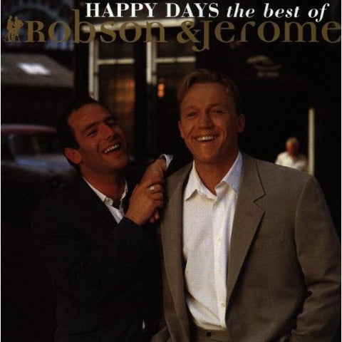 Robson and Jerome - Happy Days: The Best of Robson and Jerome Audio CD