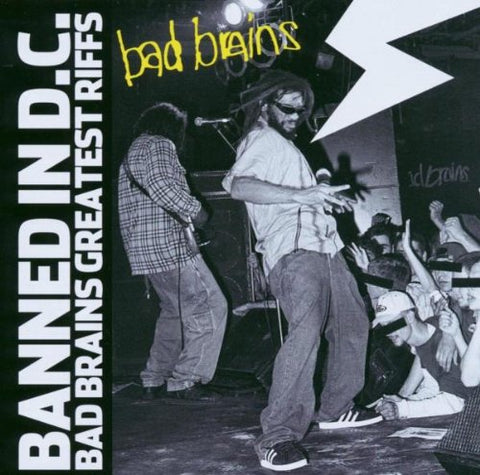Bad Brains - Banned In DC: Bad Brains Greatest Riffs Audio CD