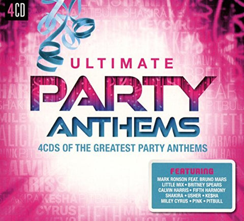 Ultimate... Party Anthems Audio CD