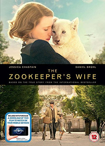 The Zookeepers Wife DVD + digital download [2017] DVD