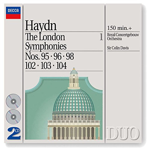 oseph Haydn - Haydn: London Symphonies, Vol.1 Audio CD