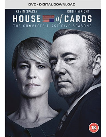 House of Cards - Season 1-5 [DVD] [2017]