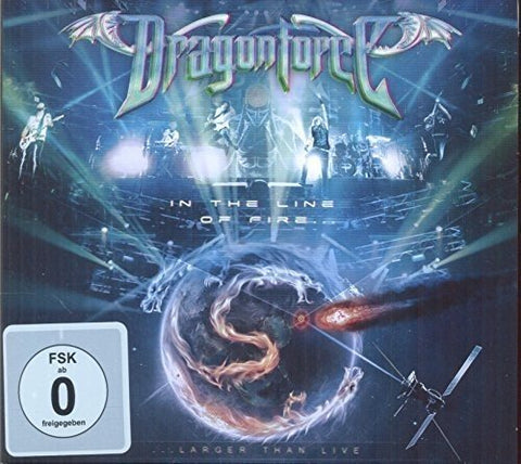 DragonForce - In The Line Of Fire Audio CD