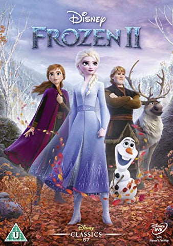 FROZEN 2 DVD RETAIL Sent Sameday* DVD
