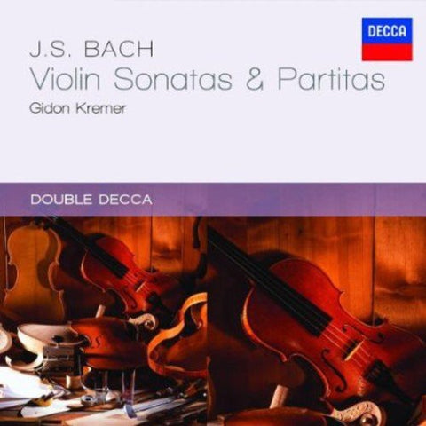 Gidon Kremer - Bach, J.S.: Violin Sonatas and Partitas Audio CD