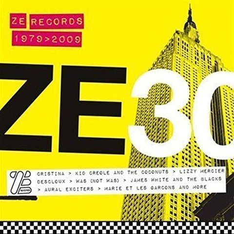 ZE RECORDS STORY Audio CD