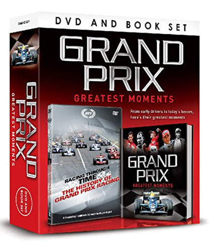 Greatest Moments of the Grand Prix (DVD/Book Gift Set)