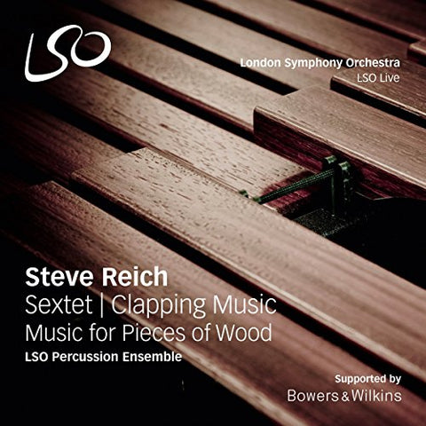 Neil Percy - Steve Reich: Sextet, Clapping Music, Music For Pieces Of Wood Audio CD