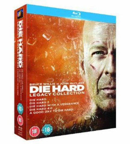 Die Hard - Legacy Collection (Films 1-5) [Blu-ray] [1988] Blu-ray