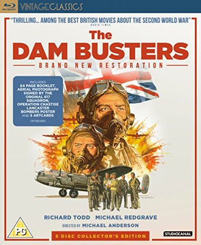 The Dam Busters - Collectors Edition [Blu-ray] [2018] Blu-ray