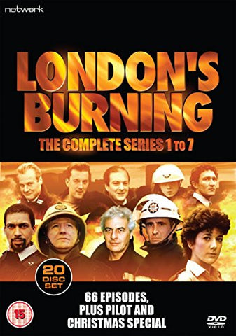 Londons Burning: The Complete Series 1 to 7 [DVD]