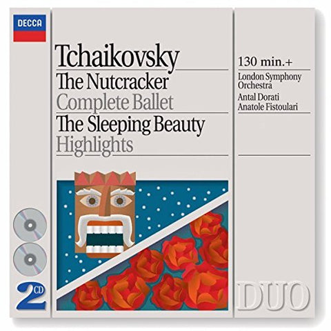 yotr Ilyich Tchaikovsky - Tchaikovsky: The Nutcracker (Complete Ballet) / The Sleeping Beauty (Highlights) Audio CD