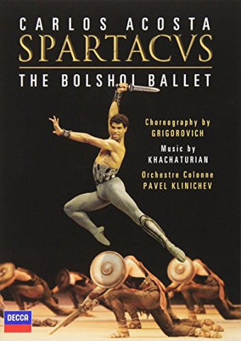 Spartacus: The Bolshoi Ballet [DVD] [2008]