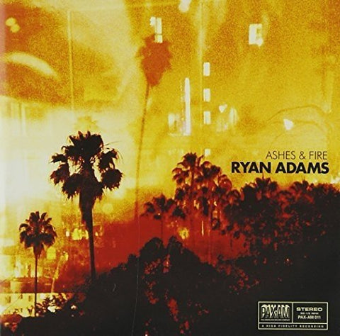Ryan Adams - Ashes and Fire Audio CD