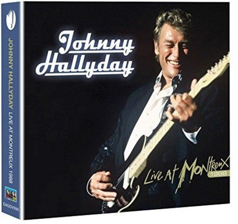 Johnny Hallyday: Live at Montreux 1988 [Region 2] Audio CD