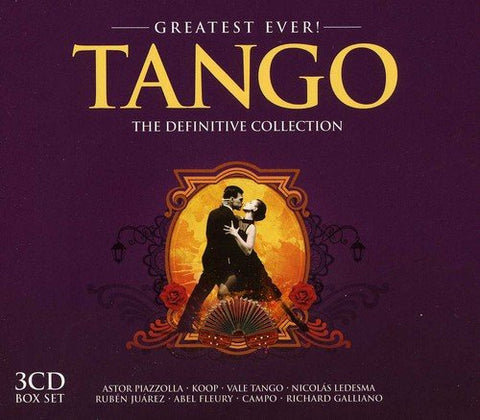 [Greatest Ever!] Tango: The Definitive Collection Audio CD