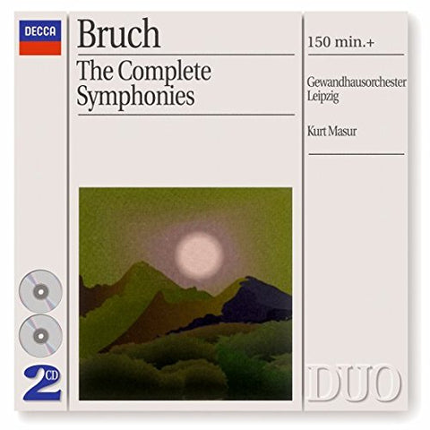 ax Bruch - Bruch: The Complete Symphonies Audio CD