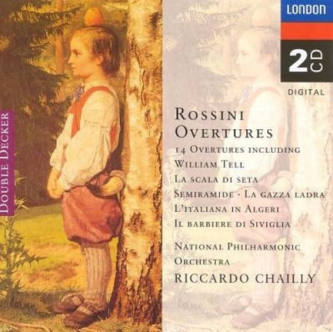 The National Philharmonic Orchestra - Rossini: 14 Overtures - Very Good Condition Audio CD