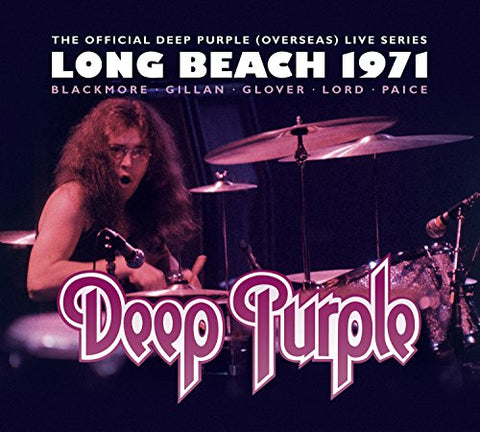 Deep Purple - Long Beach 1971 Audio CD