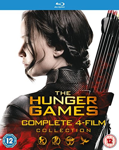 The Hunger Games - Complete Collection [Blu-ray] [2015] Blu-ray