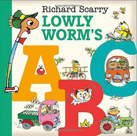 Richard Scarry - Lowly Worms ABC