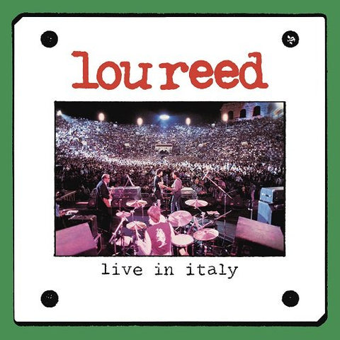 Lou Reed - Live In Italy Audio CD