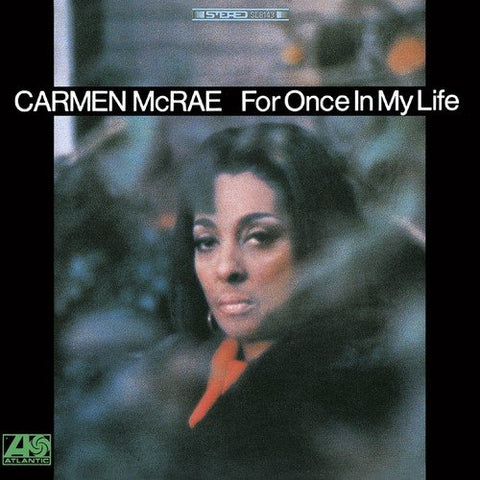 Carmen McRae - For Once In My Life Audio CD