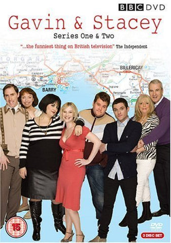 Gavin and Stacey - Series 1 and 2 Box Set [DVD]