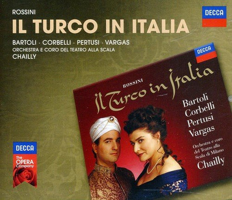 Cecilia Bartoli - Rossini: Il Turco In Italia Audio CD