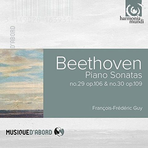 François-Frederic Guy - Beethoven: Piano Sonatas 29-30 Audio CD