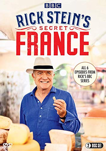 RICK STEINS SECRET FRANCE DVD
