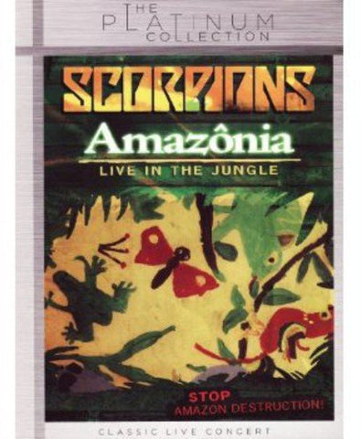Amazonia - Live In The Jungle [DVD] [2013]