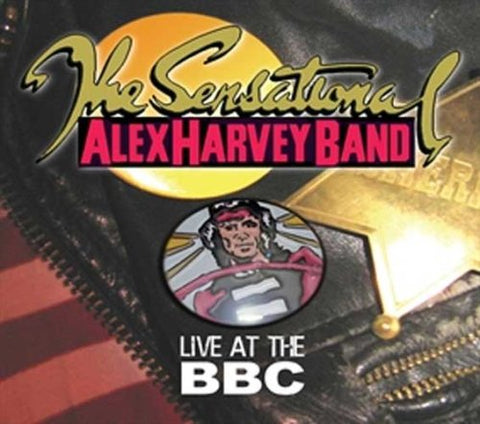 The Sensational Alex Harvey Band - Live At The BBC Audio CD